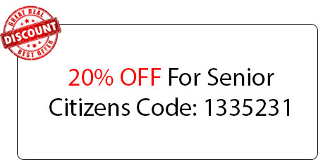 Senior Citizens 20% OFF - Locksmith at Palos Heights, IL - Palos Heights Il Locksmith